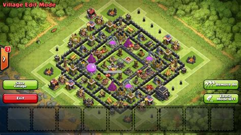 Layout Coc 4 Mortar | top 3 th9 4 mortar farming base designs coc