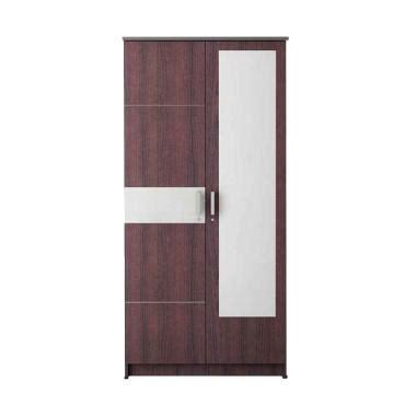 Cermin Lemari jual daily deals kirana nycxlp2cdm bronx cermin lemari pakaian mahogany 2 pintu