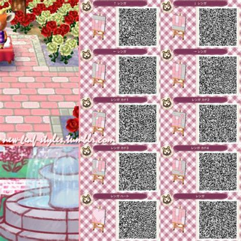 finder pattern qr code animal crossing new leaf qr code paths pattern new leaf