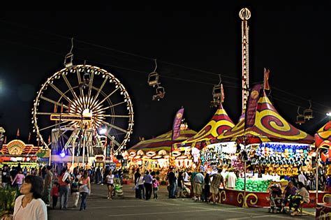 lights of the world az state fair night time at the az state fair midway took my first