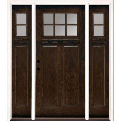 Home Depot Custom Doors Single Door With Sidelites Front Doors Exterior Doors