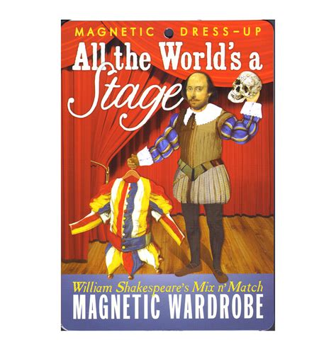 000719790x shakespeare the world as a william shakespeare all the world s a stage magnetic