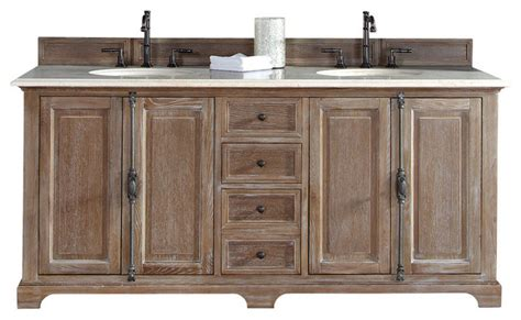 driftwood bathroom vanity providence 72 quot double vanity cabinet driftwood galala