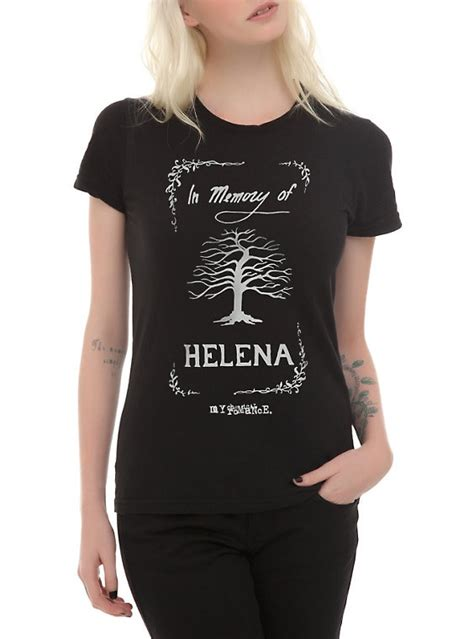 Helena Shirt by My Chemical Helena T Shirt Topic