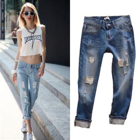 sedere pi禮 grande mondo 2015 moda mujer pantalones vaqueros verano vestir de