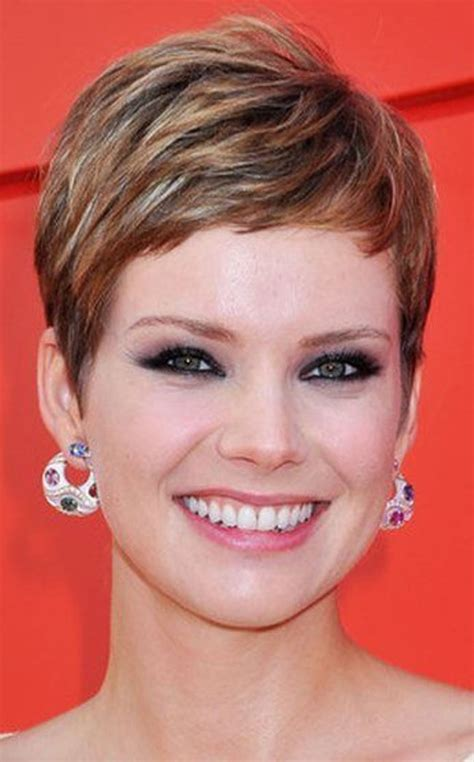 short pixie cut caramel top 60 short hairstyles for women 2018