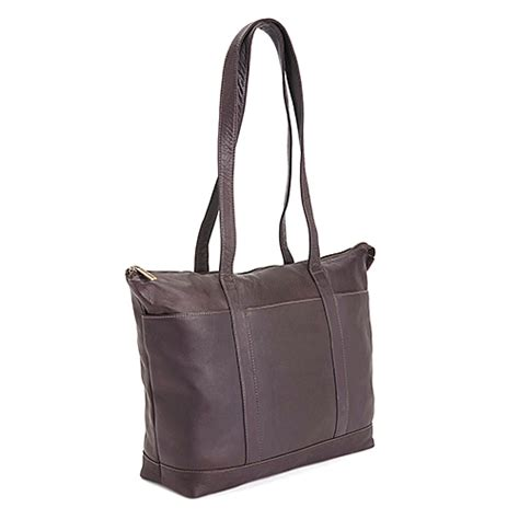 24 Hour Handbag by Royce 174 Leather Collection 24 Hour Travel Tote Bag Brown