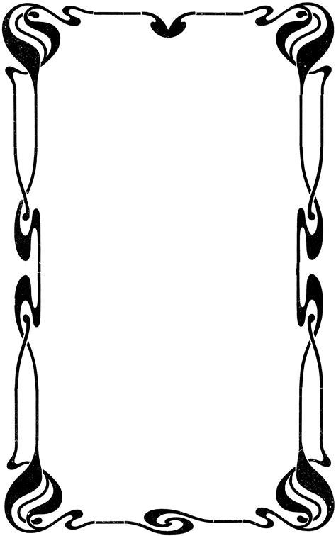decorative page border clipart