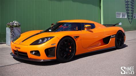 koenigsegg cc8s orange koenigsegg ccxr test drive during goball shmee s