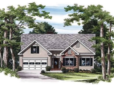 Cottage House Plans For Narrow Lots by Eplans Cottage House Plan Efficient Narrow Lot Design
