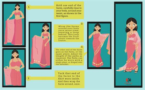 how to drape a sari how to drape saree infographics nallucollection
