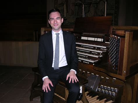 Organ Professor And Organist Christoph Organist Christopher Houlihan Conducting A Great