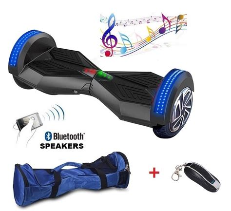 hoverboard bluetooth led lights new high quality 8 inches led balance scooter bluetooth