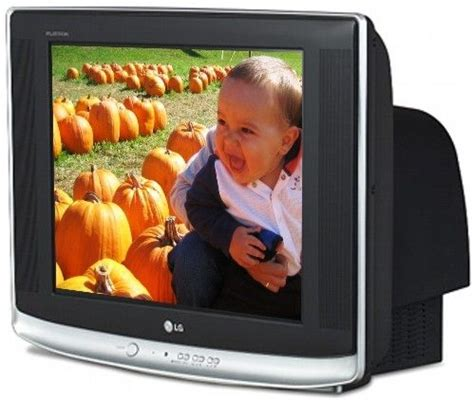 Tv Crt Lg 21 Inch lg 21fg5 flatron 21 inch pureflat crt tv output power 10w x 2 rms xd technology image with on