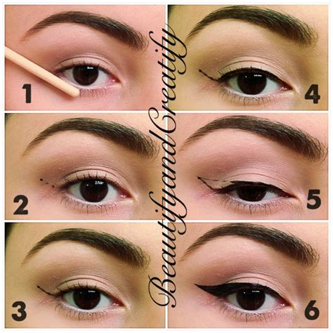 Eyeliner Make beautify and creatify how to create cat eye