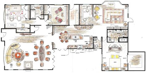 floor plan with furniture healthy home design residential spaces