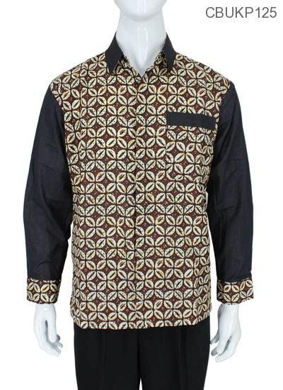 Kemeja Batik Kawung Grompol Printing Lengan Panjang baju batik kemeja panjang motif kawung kemeja lengan