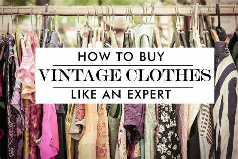 15 tips how to buy vintage clothing shpirulina