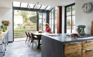 edwardian kitchen ideas glazed extension to an edwardian terraced house real homes