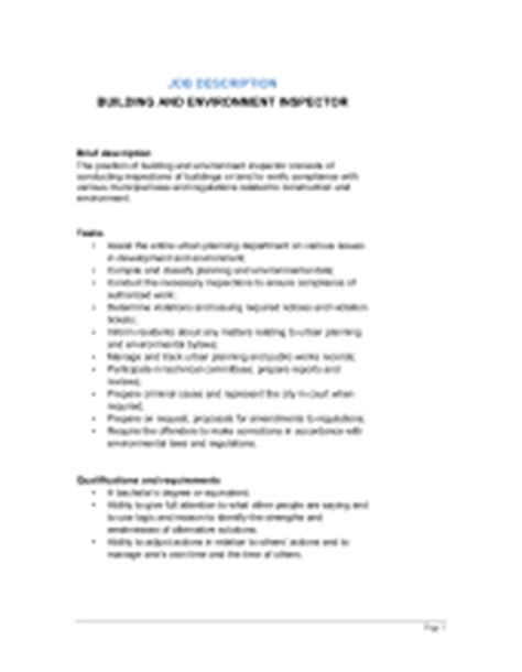 construction laborer description template sle form biztree