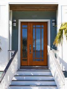 Front Door With Single Side Light Prehung Side Light Transom Door 80 Solid Mahogany 9 Lite Marginal Traditional Entry By Us