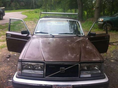 purchase    volvo wagon diesel brown exterior  attleboro massachusetts united