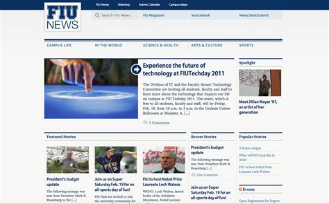 info website redesigned news site to offer better user experience