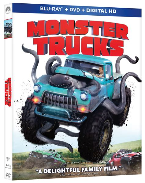 videos de monster truck ll 233 vate el dvd blu ray de monster trucks mam 225 noticias