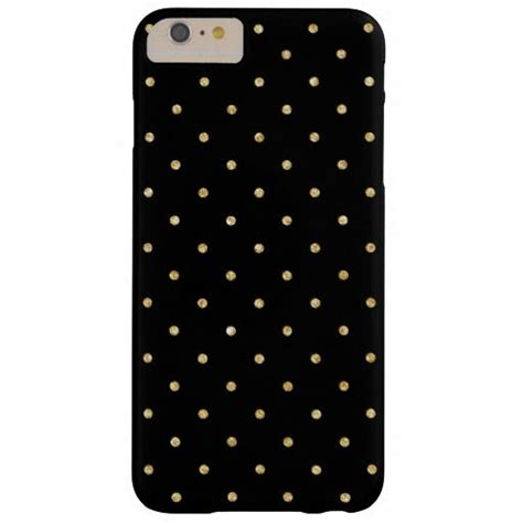 dot pattern password iphone black gold glitter small polka dots pattern barely there
