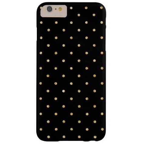 dot pattern unlock iphone black gold glitter small polka dots pattern barely there