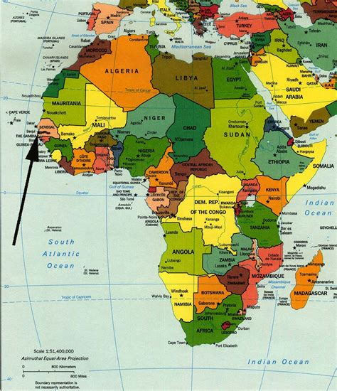 africa map gambia gambia map africa