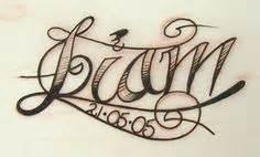 tattoo name liam 47 name tattoos identities inked in skin names tes and