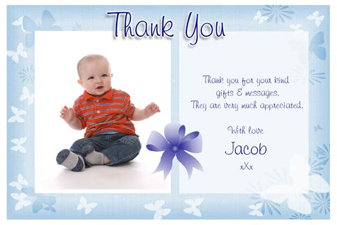 baby shower gifts thank you notes sles archives baby shower diy