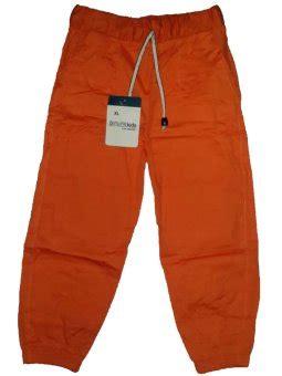 genuine celana jogger anak orange lazada indonesia