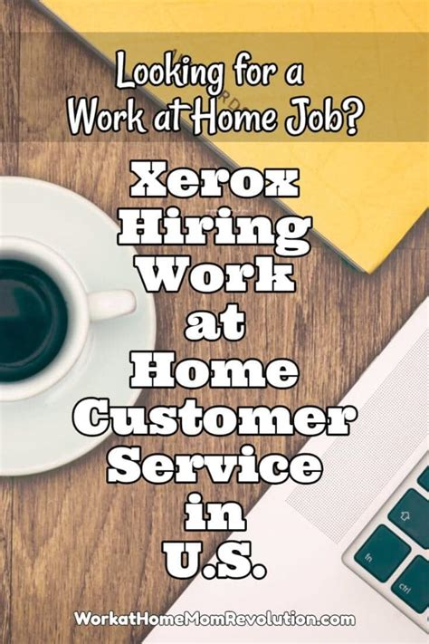 xerox work at home customer service in u s work at