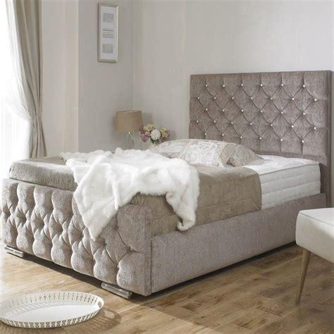 quilted bed frame bed frame upholstered king size upholstered bed frame base