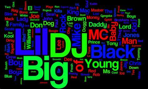 generador de nombres para raperos como crear un nombre de rapero doggs hip hop