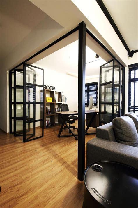 sengkang industrial hdb interior design study living