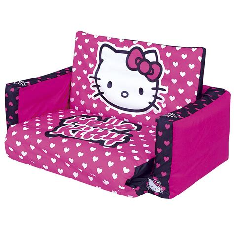 hello kitty toddler sofa hello kitty sofa flip out sofa bed new free p p ebay