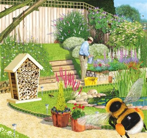 Bee Gardens by How To Make A Bee Friendly Garden Discover Wildlife