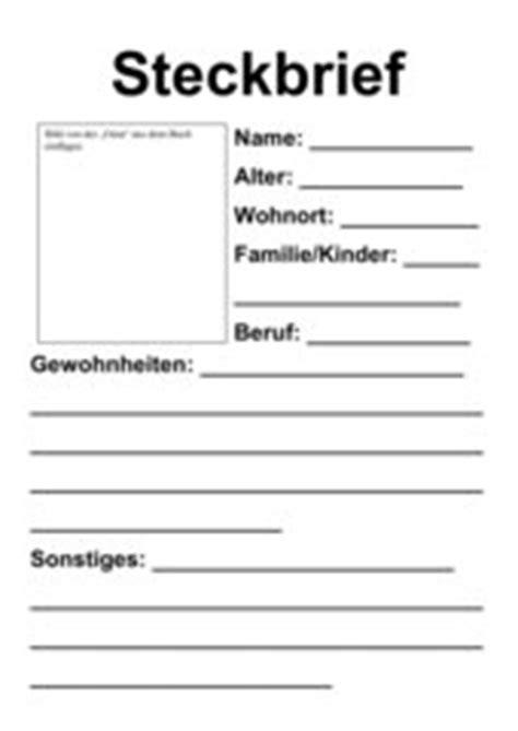 Word Vorlage Buch 4teachers Steckbrief Vorlage Zum Buch Quot Oma Quot H 228 Rtling