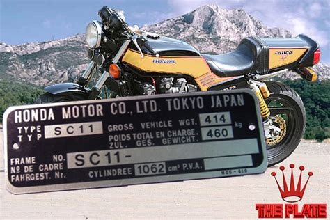 vehicle identification plates vin number plates motorcycle choppers suppliers switzerland