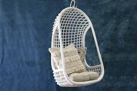 hanging ls for hanging chair white ls naturally cane rattan and wicker