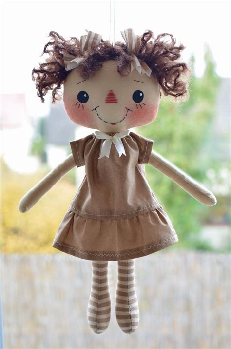 Handmade Doll Patterns - 16 best images about primitive rag dolls on
