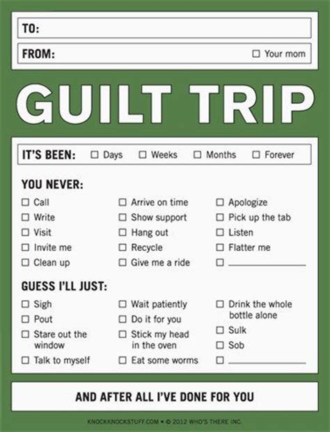 8 Signs Of Guilt by Plowing Through Manipulative Guilt Trips