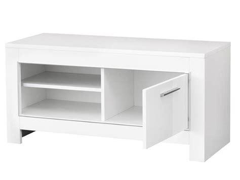 meuble tv blanc peu profond artzein