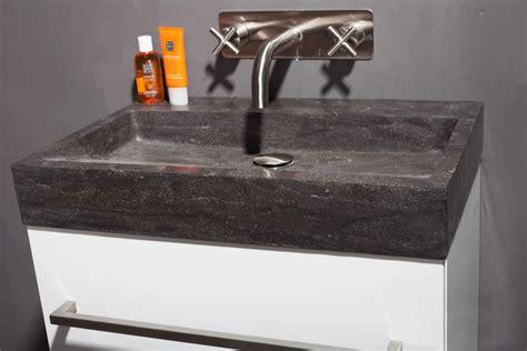 Naturstein Waschbecken Polieren by Naturstein Waschtisch Palermo Bluestone Matt Poliert Spa