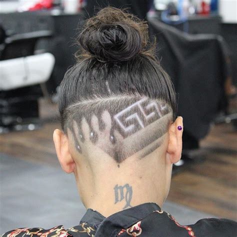 tattoo haircut 20 awesome designs into hair find your