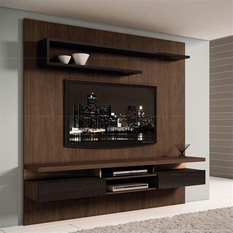 e home painel para tv at 233 50 polegadas home theater ab 225 200 x 200 x 40 5 capuccino preto bonsai