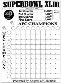 football board template blank football pool template 100 square football pool